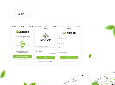 Notlob - Grocery IOS App / .psd Download design free app download freebie-friday free mockup free download freebies freebie psd freebie xd free coronavirus covid app home delivery lockdown app quarantine app free psd delivery app simple grocery app grocery app downlaod freebie