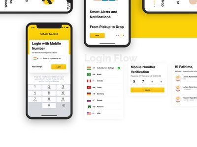 School trac 2 0  - School Bus Tracking App ui ux free download psd free downloads freelance freebie-friday free mockup freebie psd free psd free xd freebies free figma free photoshop action freebie xd free sketch free download free freebie
