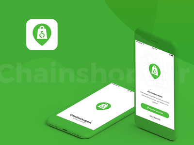Chainshopper - Grocery Delivery Mobile App mobile designer india nihalgraphics design ui ux android ios app