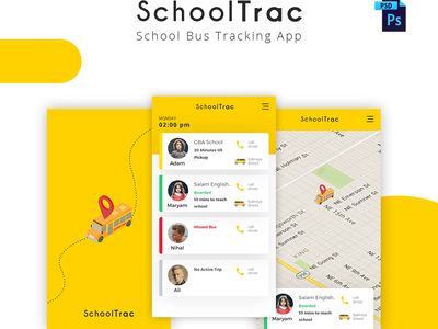 Freebie : SchoolTrac - School Bus Tracking App