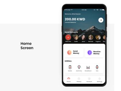 JL Kharafi - Digital Bank Mobile App