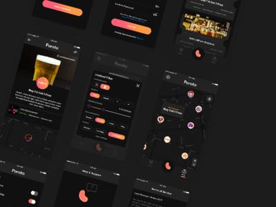 Night Mode - Poroto Deals Mobile App