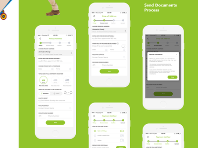 Agio - Send Documents Flow mobile app freebie typography branding illustration vector design android designer mobile mangalore www.nihalgraphics.com india app documents delivery nihal.graphics nihalgraphics ui ux