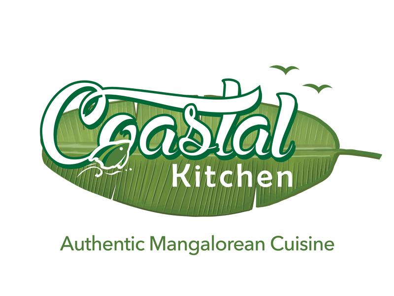 Coastal Kitchen - Logo Design coastal seafood cloud kitchen bengaluru mobile mangalore design www.nihalgraphics.com india nihal.graphics nihalgraphics logo desinger logo india logo 2d foodie food logo bangalore logo