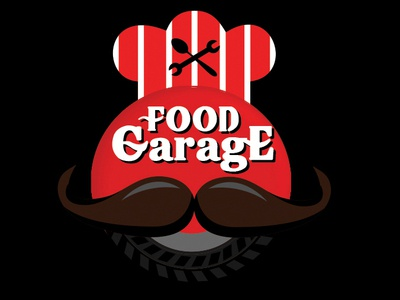 Food Garage - Logo design www.nihalgraphics.com animation icon web typography logo branding illustration mangalore vector freebie nihal.graphics nihalgraphics india