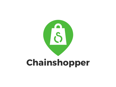 Logo Design - Chainshopper ios mobile app web mangalores top logo designer in mangalore delivery logo chainshopper designer icon typography illustration vector logo android www.nihalgraphics.com mobile mangalore design nihal.graphics nihalgraphics