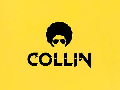 Collin - DJ logo illustration nihal.graphics design mobile icon typography vector branding nihalgraphics logo a day edm music artist dj collin mangalores top logo designer mangalore logo designer india logo designer logo