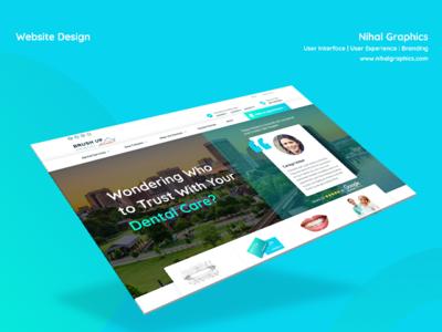 Brushup Dental - Website Design