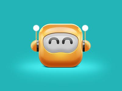 BEE icon logo 3d bee