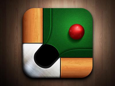 Icon billiard icon billiard