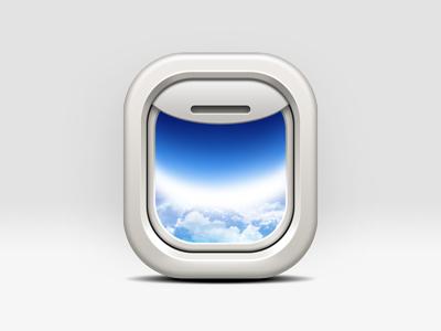 Icon plane window