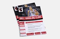 Flyer Design - Ball Handling Clinic