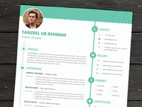 Elite Resume Template - MS Word & Adobe Photoshop formats