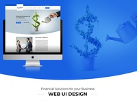 Sphinx Website Design - Financial Web Design - UI Design