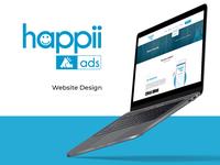 Website UI Design – Happii Ads – Advertising Agency