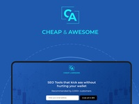 SEO Landing Page Design – Cheap & Awesome – SEO Tools