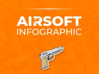 Airsoft Infographic Design