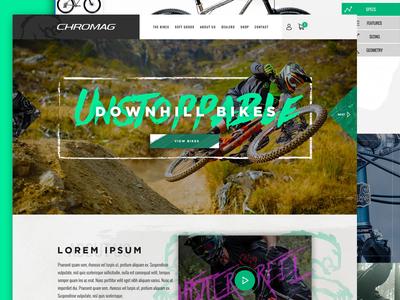 Chromag Website Concept