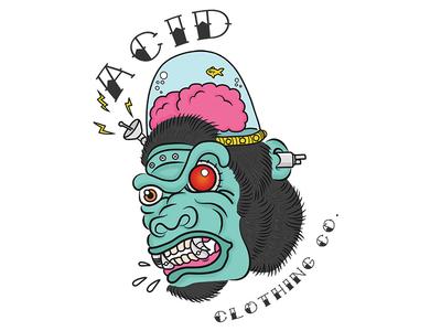 Acid Clothing Illustrations