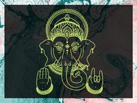 Ganesh Illustration