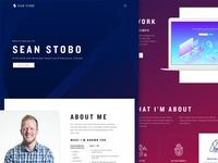 Sean Stobo Portfolio site