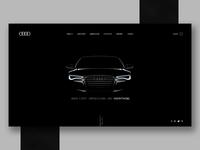 Audi site idea