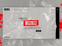"Web-site for the music band ""NIZKIZ"""