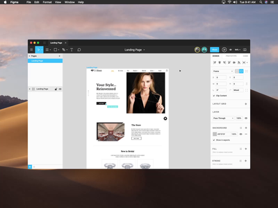 Figma Video Chat Concept