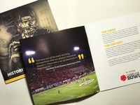 ESPN Events // Camellia Bowl Sales Brochure