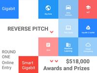 Gigabit Community Reverse Pitch