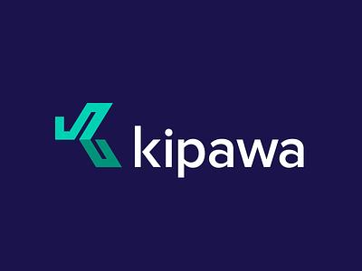 Kipawa Logo arrows mark branding recruitment logo