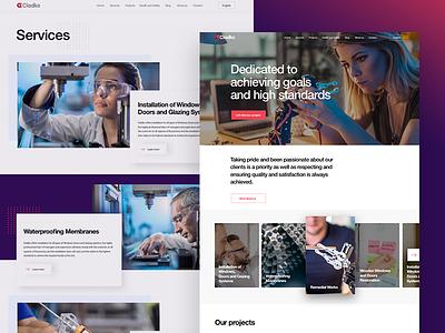Corporate website agency ui ux