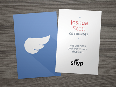 Shyp business cards by joshua scott dribbble shyp business cards colourmoves