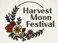 Harvest Moon Festival Emblem, Sticker & Program