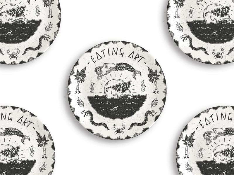 Eating Art - Plate