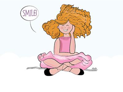 Mandarina Smiling