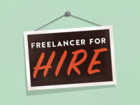 Freelancer For Hire