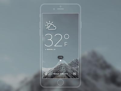 Forecast V2 location interactive forecast icon sun heat temperature app weather