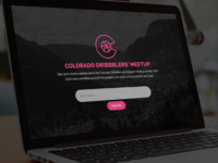 Colorado Dribbblers' Meetup
