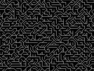 The Diagon Maze javascript p5js generative art graphic design processing