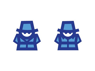 His and Hers Detective Icons icons trench coat detective