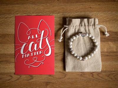 All Cats Matter Postcard