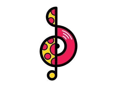 Deliciously Musical Logo Mark