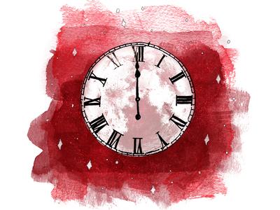 Midnight Merlot Label Illustration