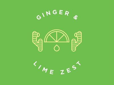 Ginger Lime Flavor Illustration