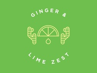 Ginger Lime Flavor Illustration
