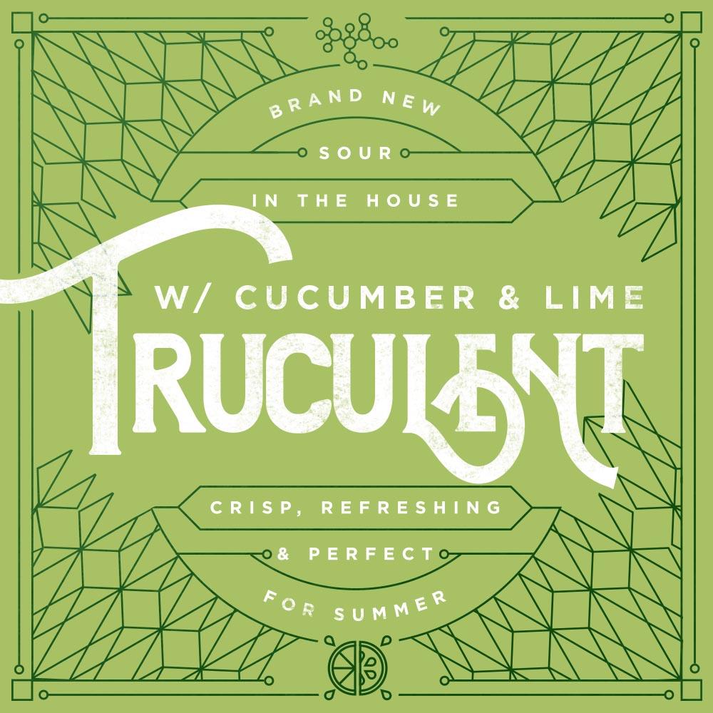 Truculent cucumber lime