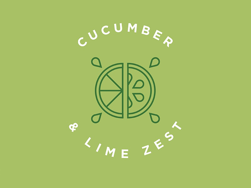 Truculent cucumber lime dribbble