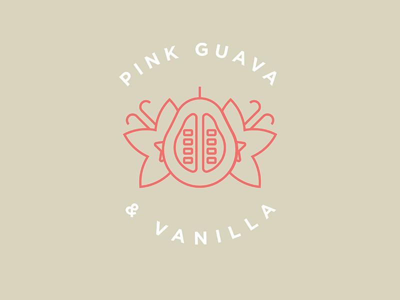 Pink vanilla dribbble