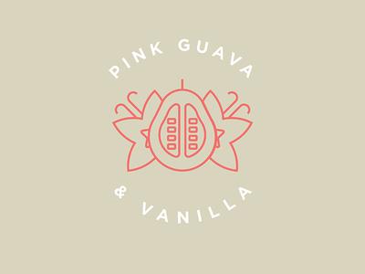 Pink Guava & Vanilla Flavor Illustration